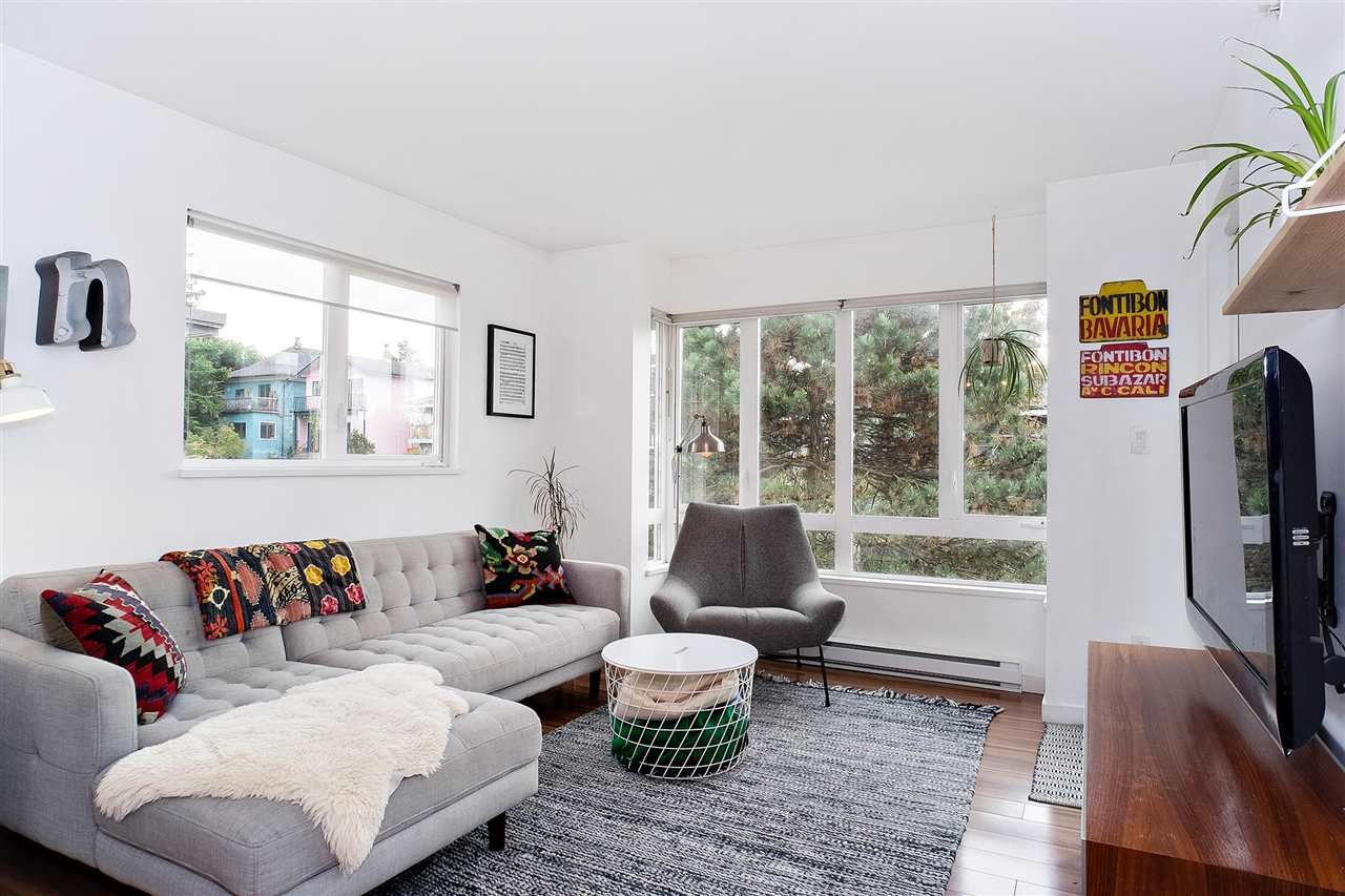 """Main Photo: 406 1823 E GEORGIA Street in Vancouver: Hastings Condo for sale in """"Georgia Court"""" (Vancouver East)  : MLS®# R2513816"""