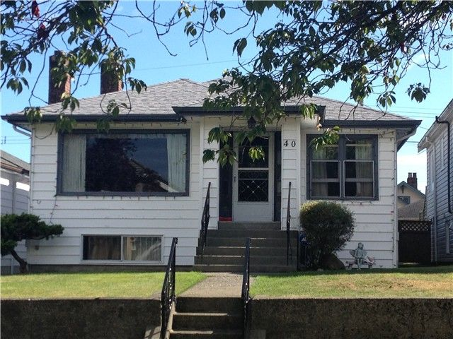 """Main Photo: 40 W 40TH Avenue in Vancouver: Cambie House for sale in """"CAMBIE/OAKRIDGE"""" (Vancouver West)  : MLS®# V1023859"""
