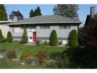 Photo 1: 1748 GRAND BV in North Vancouver: Boulevard House for sale : MLS®# V1031855