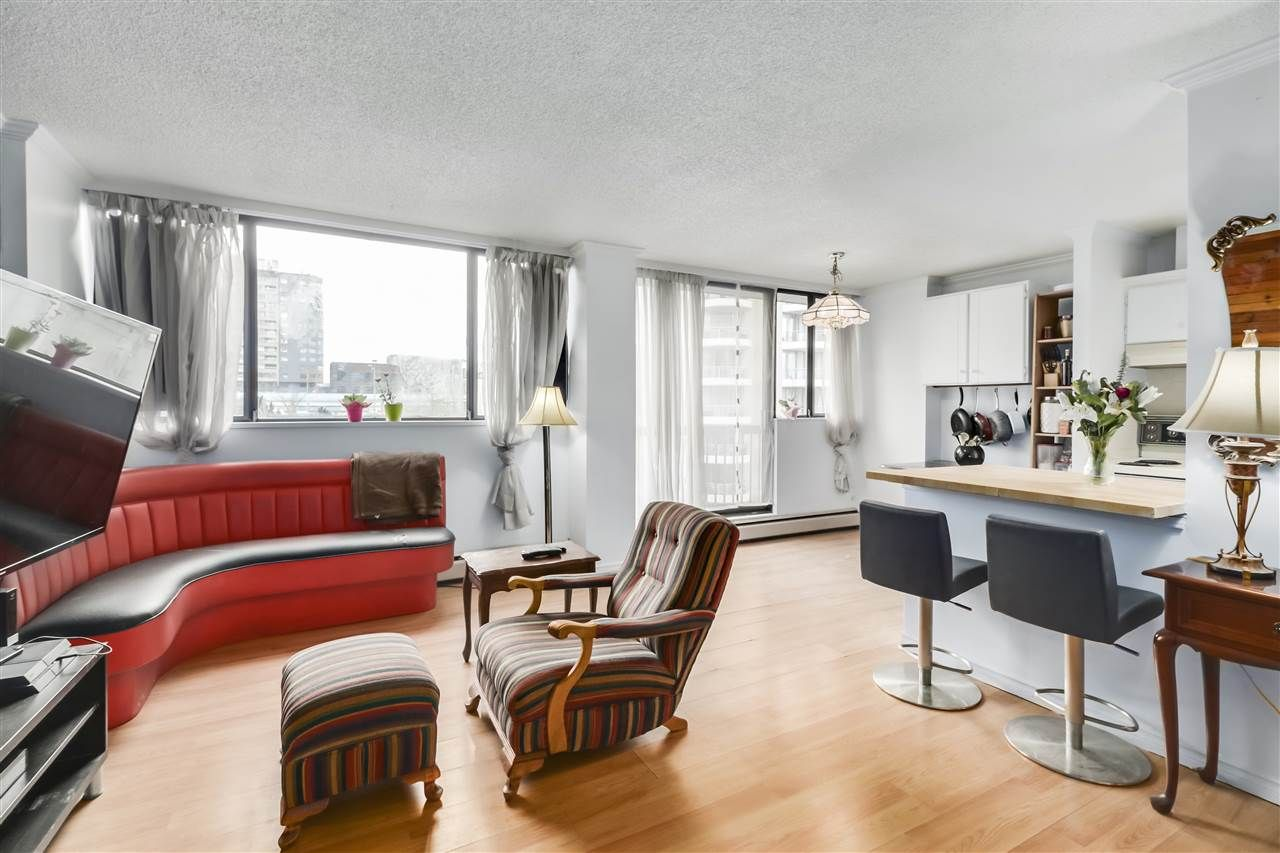 """Main Photo: 606 620 SEVENTH Avenue in New Westminster: Uptown NW Condo for sale in """"Charterhouse"""" : MLS®# R2531029"""