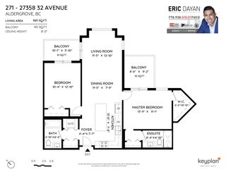 """Photo 28: 271 27358 32 Avenue in Langley: Aldergrove Langley Condo for sale in """"The Grand at Willow Creek"""" : MLS®# R2534066"""