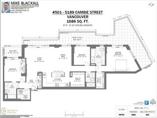 """Photo 40: 501 5189 CAMBIE Street in Vancouver: Cambie Condo for sale in """"CONTESSA"""" (Vancouver West)  : MLS®# R2561508"""