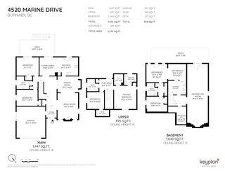 Photo 2: 4520 MARINE Drive in Burnaby: Big Bend House for sale (Burnaby South)  : MLS®# R2369936