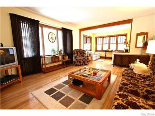 Photo 5: 19 Kingston Row in WINNIPEG: St Vital Residential for sale (South East Winnipeg)  : MLS®# 1531188