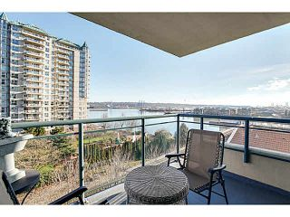 """Photo 1: 602 8 LAGUNA Court in New Westminster: Quay Condo for sale in """"THE EXCELSIOR"""" : MLS®# V1102450"""