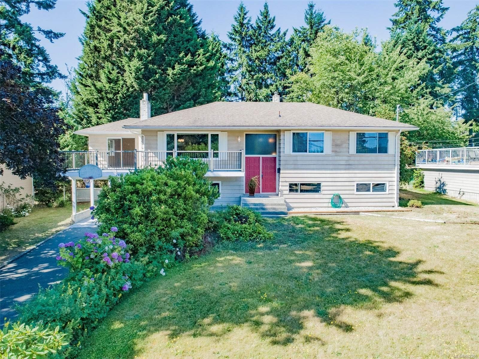 Main Photo: 2455 Marlborough Dr in : Na Departure Bay House for sale (Nanaimo)  : MLS®# 882305