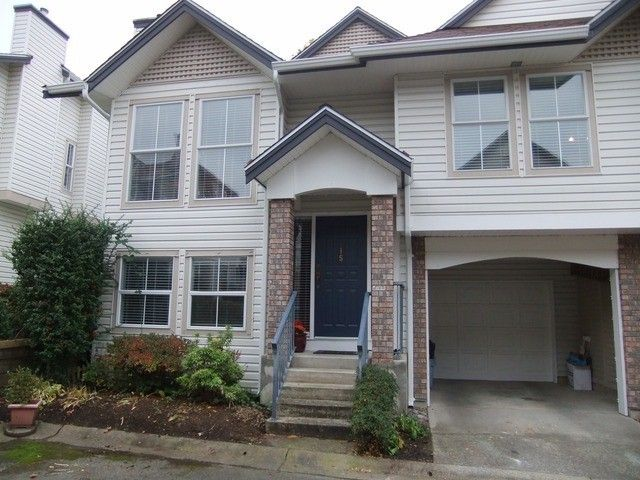 """Main Photo: 15 8716 WALNUT GROVE Drive in Langley: Walnut Grove Townhouse for sale in """"Willow Arbour"""" : MLS®# F1324550"""