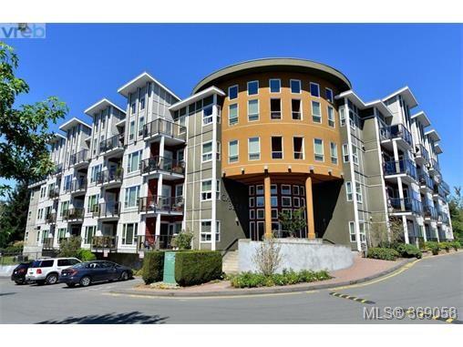 Main Photo: 407 866 Brock Ave in VICTORIA: La Langford Proper Condo for sale (Langford)  : MLS®# 740121