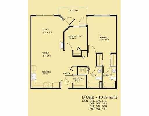 "Main Photo: 105 22255 122ND AV in Maple Ridge: West Central Condo for sale in ""MAGNOLIA GATE"" : MLS®# V578349"