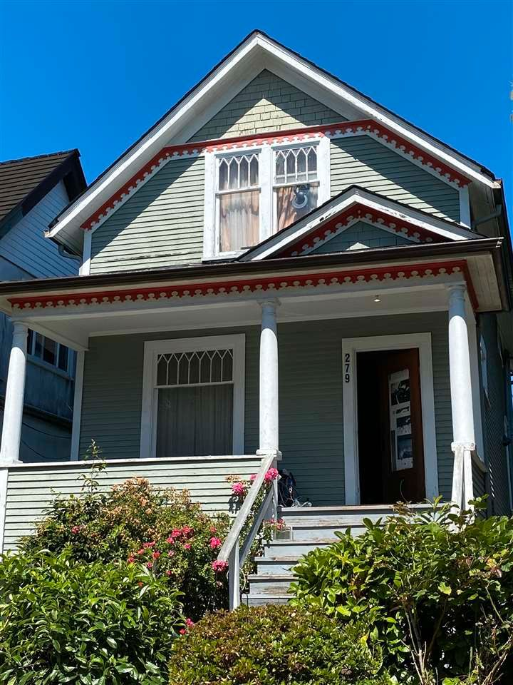 Main Photo: 279 E 18TH Avenue in Vancouver: Main House for sale (Vancouver East)  : MLS®# R2562995