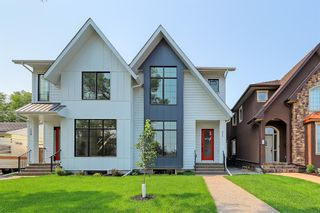 Photo 1: 525 34A Street NW in Calgary: Parkdale Semi Detached for sale : MLS®# A1055557