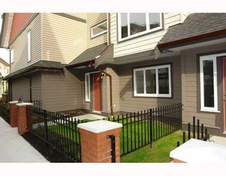 "Photo 2: 2 22386 SHARPE Avenue in Richmond: Hamilton RI Townhouse for sale in ""WESTMINSTER TERRACE"" : MLS®# V796181"