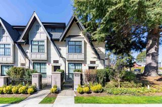 "Photo 1: 7801 OAK Street in Vancouver: Marpole Townhouse for sale in ""OAK + PARK"" (Vancouver West)  : MLS®# R2561289"