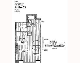 """Photo 2: 503 1255 SEYMOUR Street in Vancouver: Downtown VW Condo for sale in """"ELAN"""" (Vancouver West)  : MLS®# V682571"""