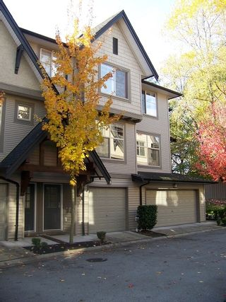 "Photo 1: 50 15152 62A Avenue in Surrey: Sullivan Station Townhouse for sale in ""Uplands at Panorama Place"" : MLS®# F1127411"