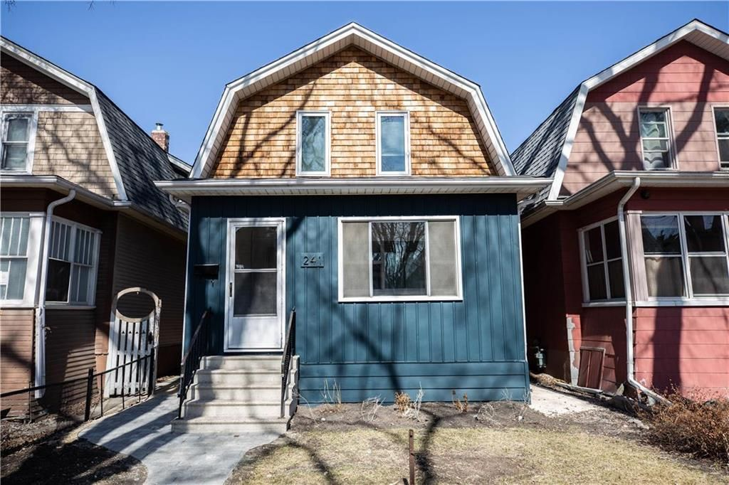 Main Photo: 241 Morley Avenue in Winnipeg: Riverview Residential for sale (1A)  : MLS®# 202107850