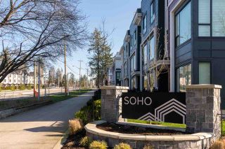 """Photo 1: 128 2280 163 Street in Surrey: Grandview Surrey Townhouse for sale in """"Soho"""" (South Surrey White Rock)  : MLS®# R2461801"""