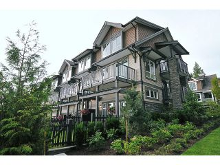 """Photo 1: 119 1480 SOUTHVIEW Street in Coquitlam: Burke Mountain Townhouse for sale in """"CEDAR CREEK"""" : MLS®# V1045909"""