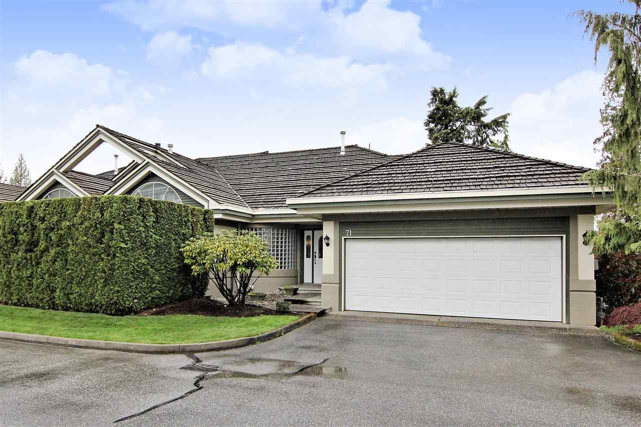 Main Photo: 71 4001 OLD CLAYBURN ROAD in Abbotsford: Abbotsford East Townhouse for sale : MLS®# R2411432