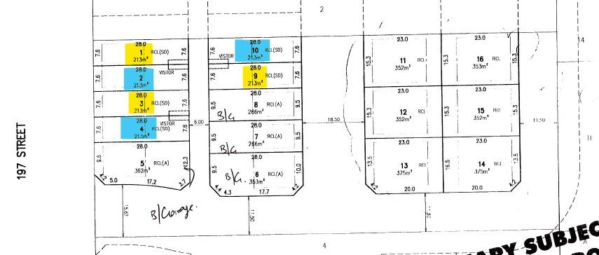 Main Photo: Lot # 9 7894 197 St in TOL: Land