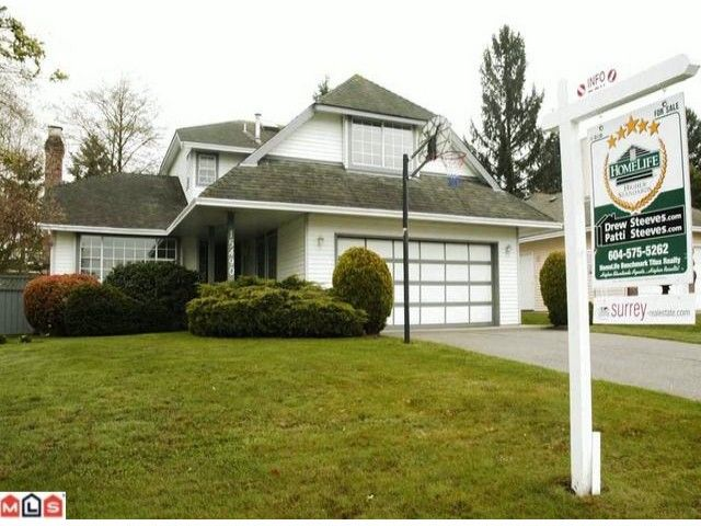"""Main Photo: 15490 92A Avenue in Surrey: Fleetwood Tynehead House for sale in """"BERKSHIRE PARK"""" : MLS®# F1008513"""
