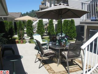 """Photo 3: 116 33751 7TH Avenue in Mission: Mission BC Townhouse for sale in """"HERITAGE PARK"""" : MLS®# F1019203"""