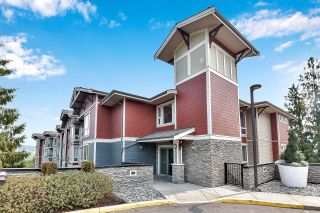 """Photo 1: 105 2238 WHATCOM Road in Abbotsford: Abbotsford East Condo for sale in """"Waterleaf"""" : MLS®# R2610127"""