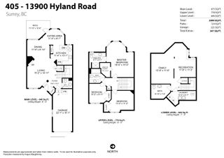 """Photo 40: 405 13900 HYLAND Road in Surrey: East Newton Townhouse for sale in """"HYLAND GROVE"""" : MLS®# R2605860"""