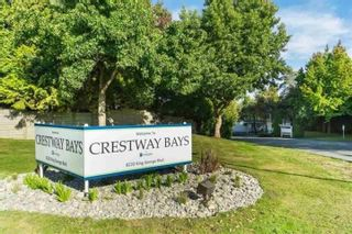 """Photo 1: 60 8220 KING GEORGE Boulevard in Surrey: Bear Creek Green Timbers Manufactured Home for sale in """"Crestway Bays"""" : MLS®# R2509412"""