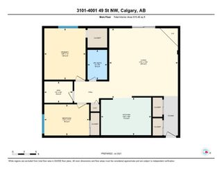 Photo 34: 3101 4001C 49 Street NW in Calgary: Varsity Apartment for sale : MLS®# A1135527