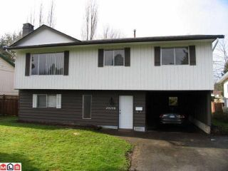 Photo 1: 20258 52ND Avenue in Langley: Langley City House for sale : MLS®# F1110259