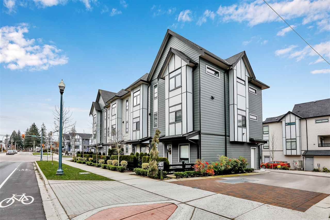 """Main Photo: 5 2427 164 Street in Surrey: Grandview Surrey Townhouse for sale in """"The Smith"""" (South Surrey White Rock)  : MLS®# R2539751"""