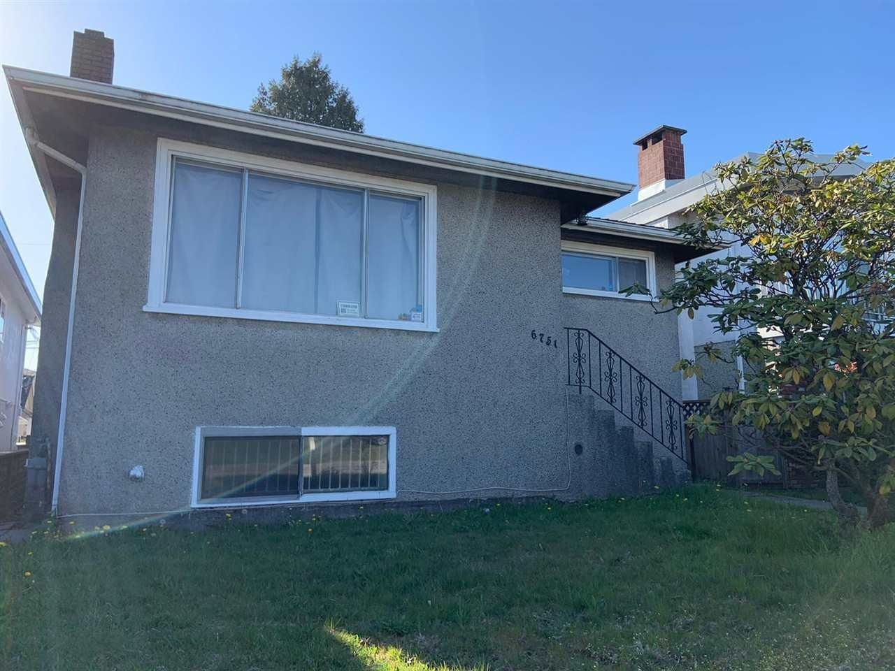 Main Photo: 6751 KNIGHT Street in Vancouver: South Vancouver House for sale (Vancouver East)  : MLS®# R2607190