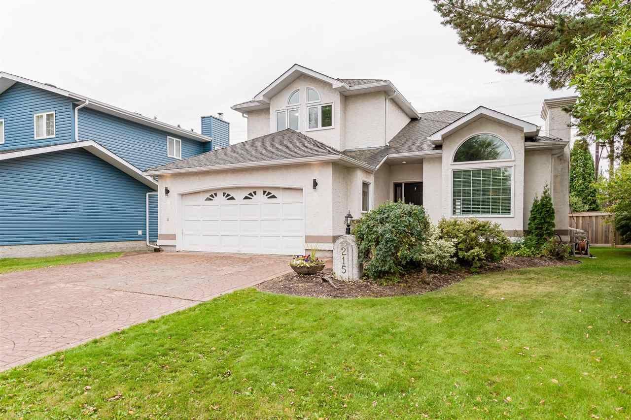 Main Photo: 215 HEAGLE Crescent in Edmonton: Zone 14 House for sale : MLS®# E4241702