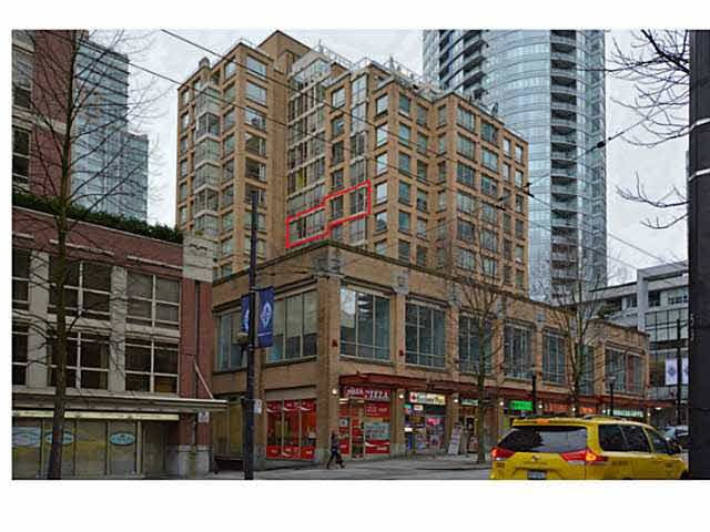 Main Photo: 1007 822 HOMER Street in Vancouver: Downtown VW Condo for sale (Vancouver West)  : MLS®# V1094967