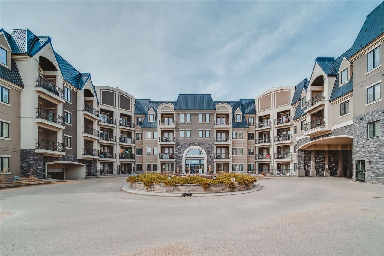 Main Photo: 120 6083 MAYNARD Way in Edmonton: Zone 14 Condo for sale : MLS®# E4237088