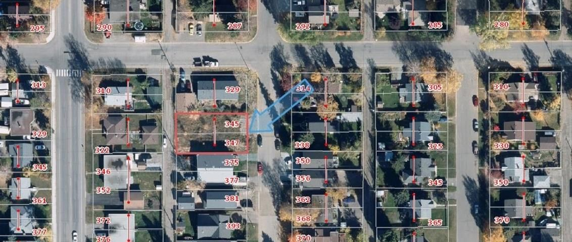 Main Photo: 345 - 347 BURDEN Street in Prince George: Central Land for sale (PG City Central (Zone 72))  : MLS®# R2492064