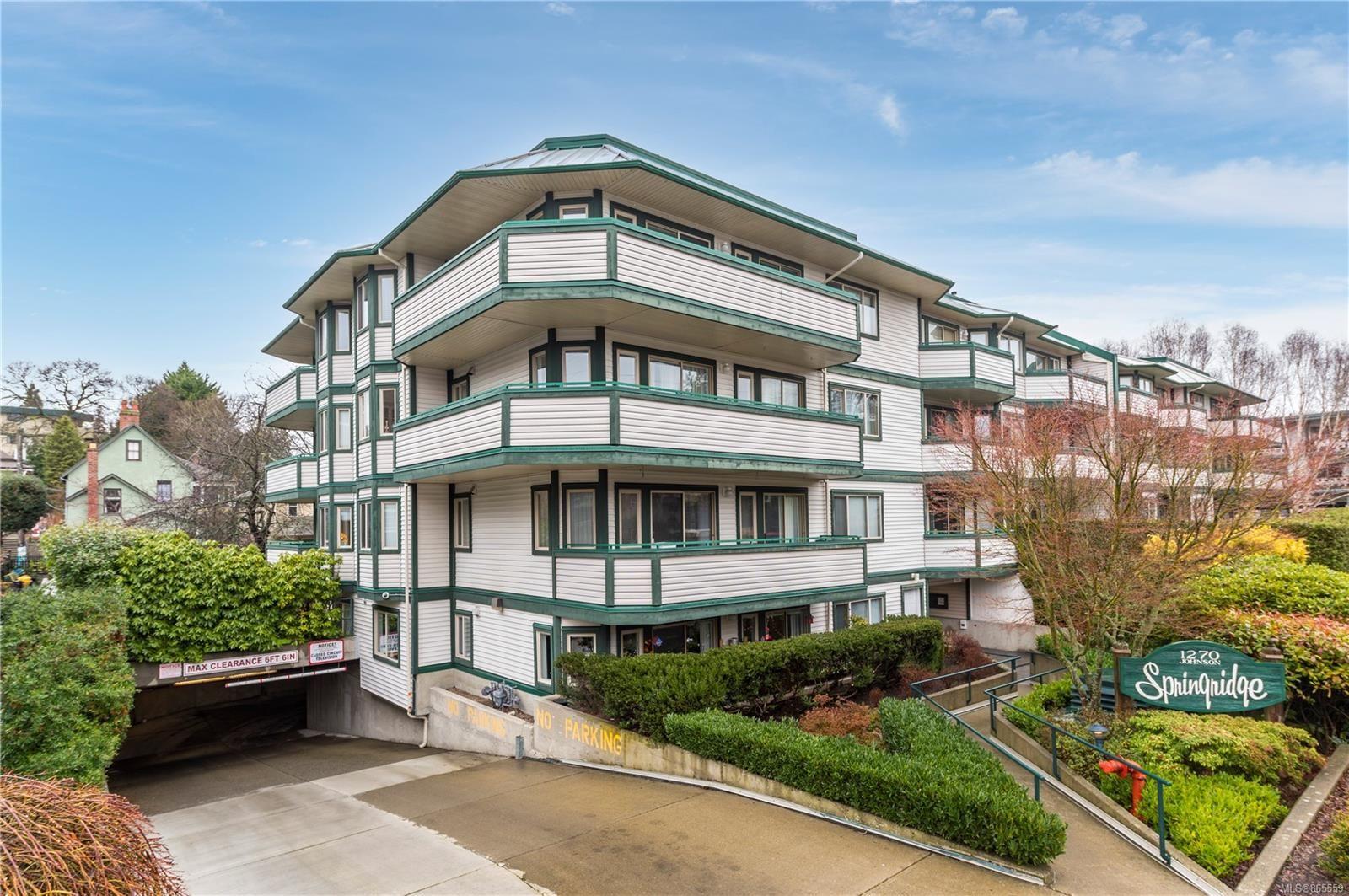 Main Photo: 108 1270 Johnson St in : Vi Jubilee Condo for sale (Victoria)  : MLS®# 865559