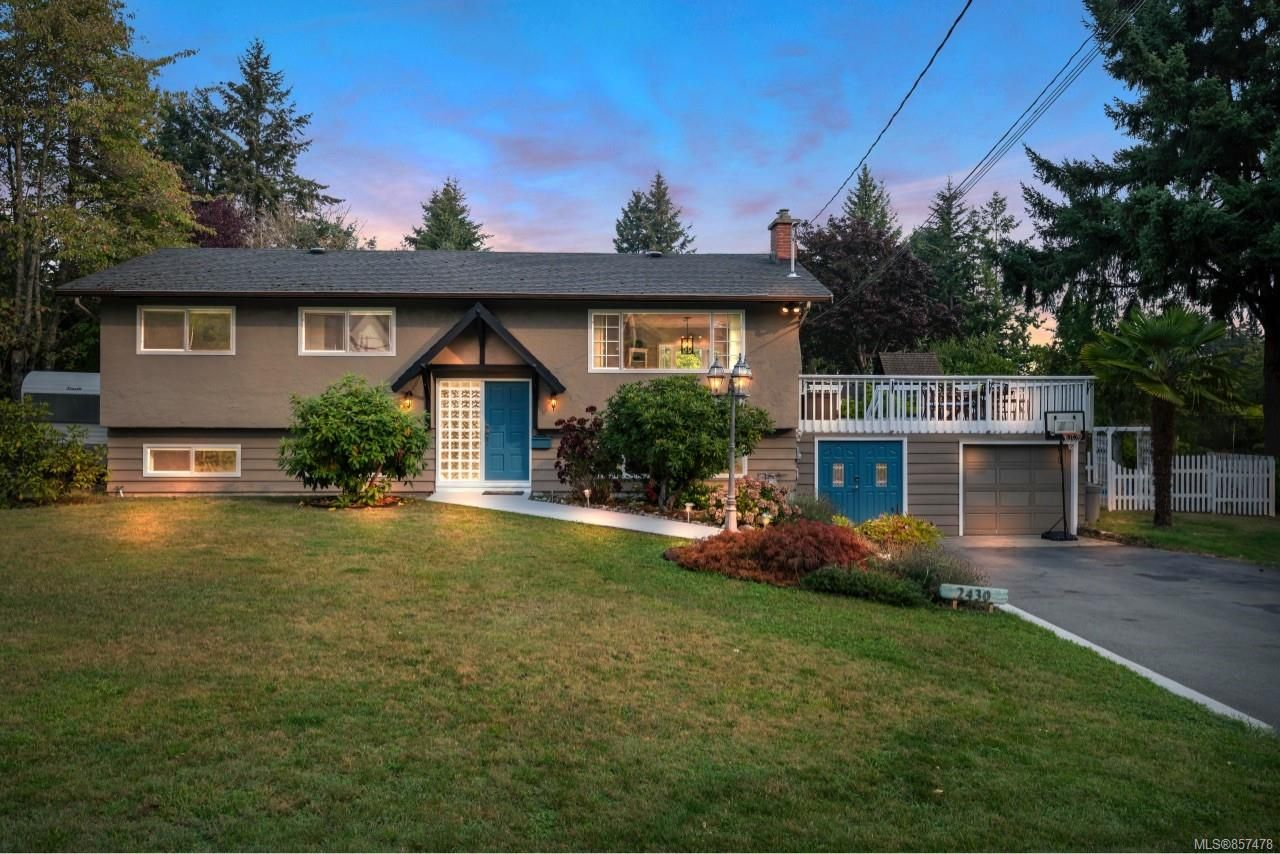Main Photo: 2430 Meadowland Dr in : CS Tanner House for sale (Central Saanich)  : MLS®# 857478