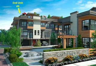 """Photo 1: 9 7811 209 Street in Langley: Willoughby Heights Townhouse for sale in """"EXCHANGE"""" : MLS®# R2246485"""
