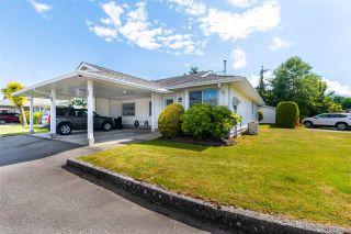 "Photo 1: 160 7610 EVANS Road in Chilliwack: Sardis West Vedder Rd Townhouse for sale in ""Cottonwood Village"" (Sardis)  : MLS®# R2590912"