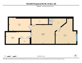 Photo 32: 106 2445 Kingsland Road SE: Airdrie Row/Townhouse for sale : MLS®# A1072510