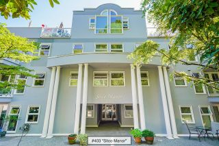"""Photo 1: 403 1023 WOLFE Avenue in Vancouver: Shaughnessy Condo for sale in """"SITCO MANOR - SHAUGHNESSY"""" (Vancouver West)  : MLS®# R2612381"""