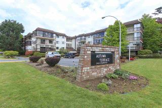 "Photo 1: 114 2414 CHURCH Street in Abbotsford: Abbotsford West Condo for sale in ""AUTUMN TERRACE"" : MLS®# R2163311"