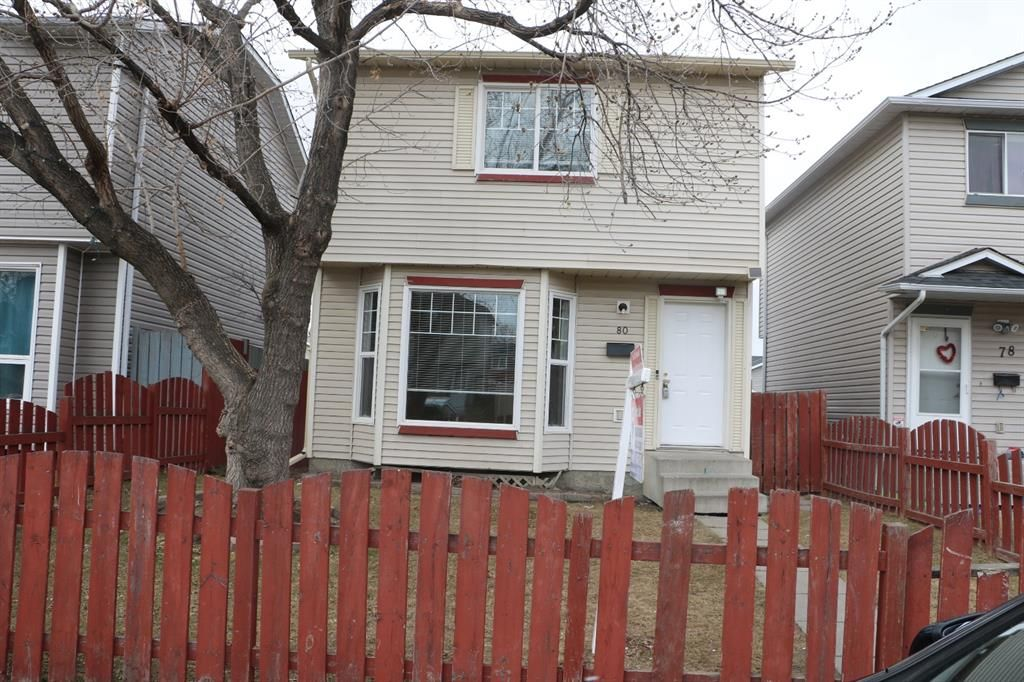 Main Photo: 80 Martinbrook Road NE in Calgary: Martindale Detached for sale : MLS®# A1092833