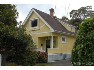 Photo 1: 1044 Redfern St in VICTORIA: Vi Fairfield East House for sale (Victoria)  : MLS®# 518219