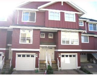 Photo 1: 124 935 EWEN Avenue in NEW WESTMINSTER: Queensborough Townhouse for sale (New Westminster)  : MLS®# V779286