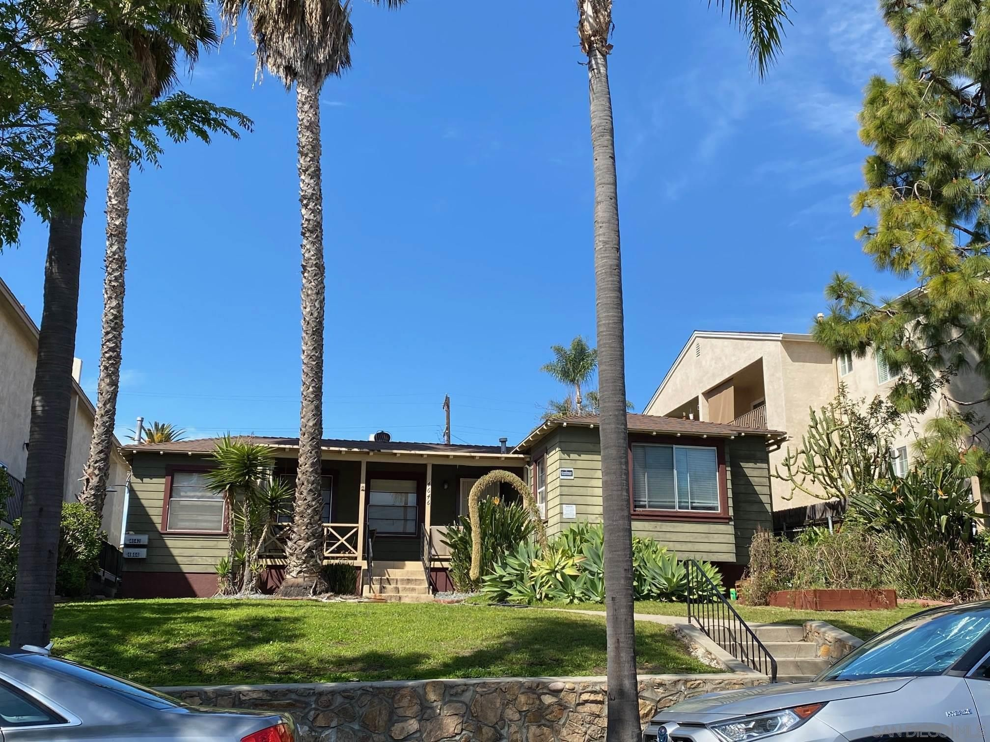 Main Photo: UNIVERSITY HEIGHTS Property for sale: 4642-4646 Florida St in San Diego