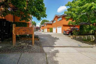Photo 2: 101 303 CUMBERLAND Street in New Westminster: Sapperton Townhouse for sale : MLS®# R2584594