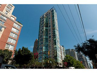 """Photo 1: 603 1155 HOMER Street in Vancouver: Yaletown Condo for sale in """"CityCrest"""" (Vancouver West)  : MLS®# V1078829"""